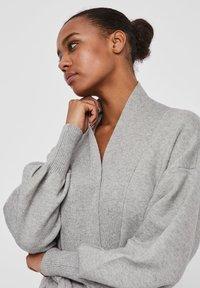 Vero Moda - Cardigan - light grey melange - 3