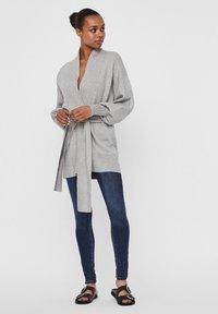Vero Moda - Cardigan - light grey melange - 1