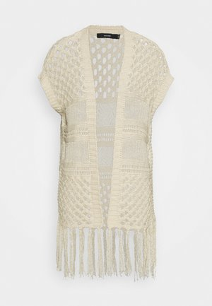 VMMOLLIE OPEN - Cardigan - birch