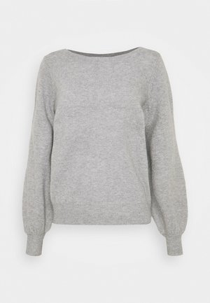 VMBRILLIANT BOATNECK - Maglione - light grey melange