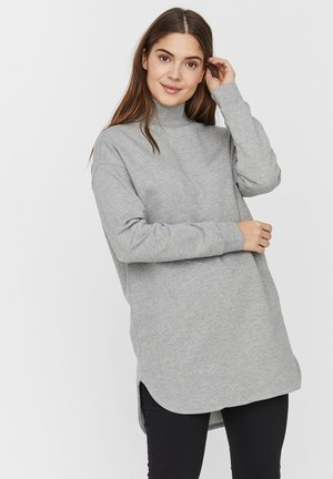 Bluza - light grey melange