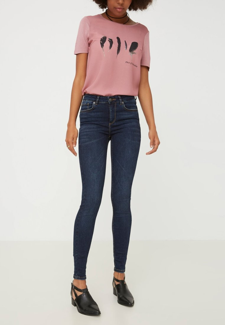 Vero Moda - Jeans Skinny Fit - dark blue denim