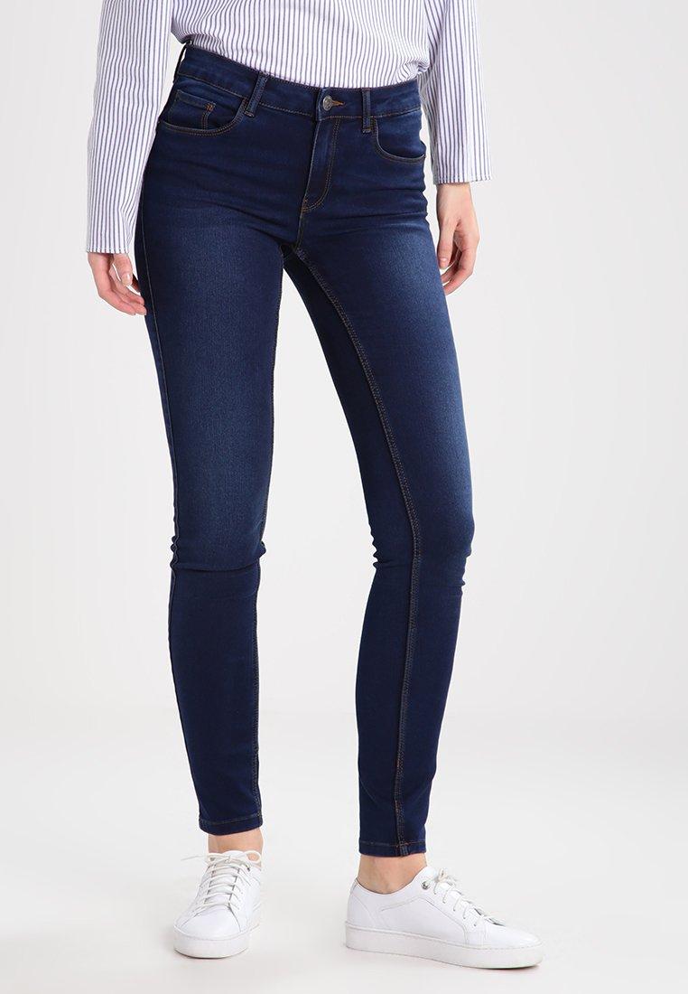 Vero Moda - VMSEVEN - Jeans Slim Fit - dark blue denim