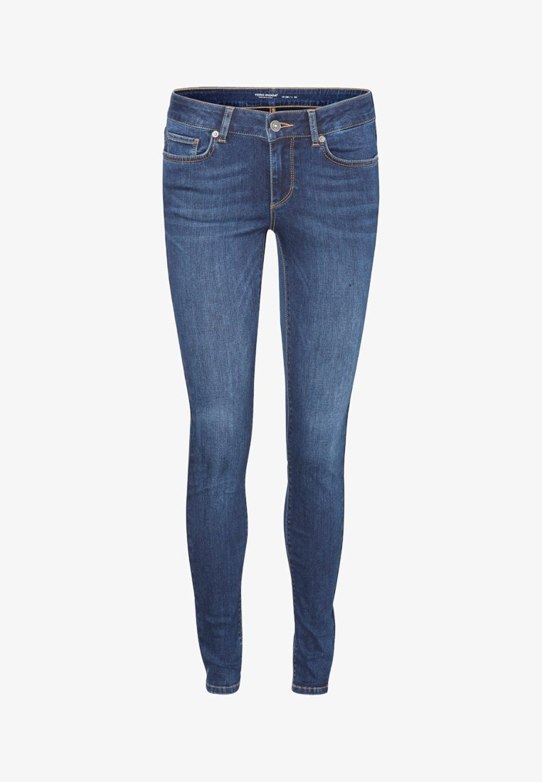 Vero Moda - Jeans Skinny Fit - dark blue denim