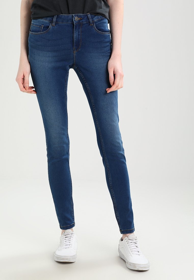 Vero Moda - VMSEVEN SHAPE UP  - Jeans Slim Fit - medium blue denim
