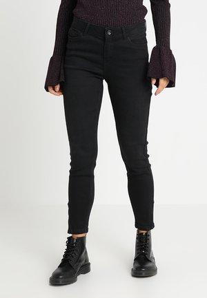 VMSEVEN ZIP - Jeans Skinny Fit - black