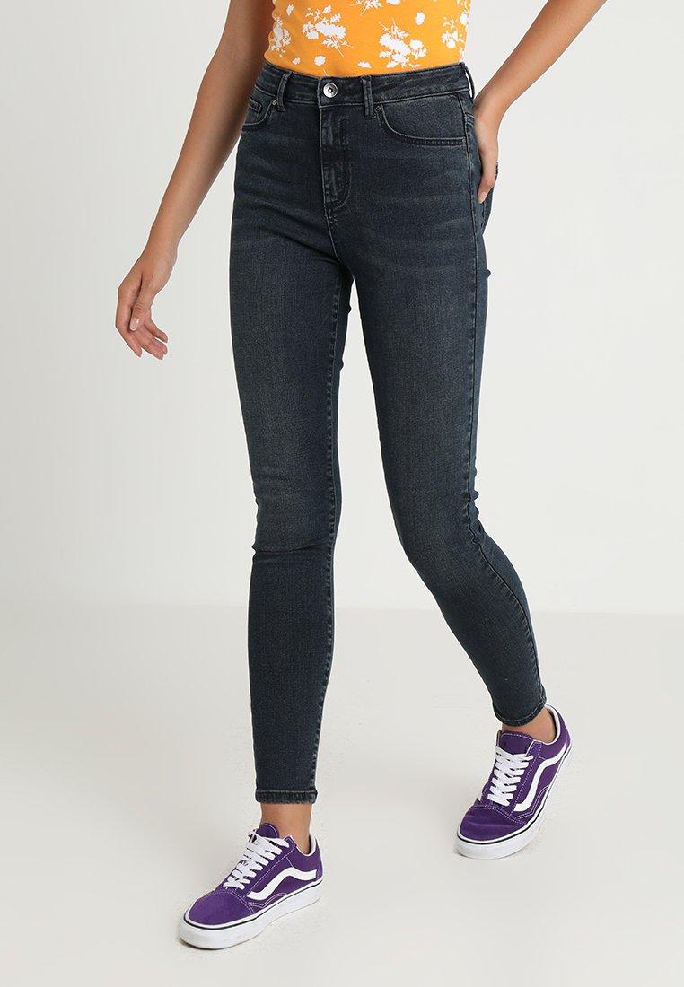 Vero Moda - VMSOPHIA - Jeans Skinny Fit - dark blue denim/black