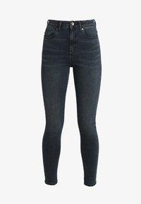 Vero Moda - VMSOPHIA - Jeans Skinny Fit - dark blue denim/black - 4