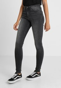 Vero Moda - VMSOPHIA  - Jeans Skinny Fit - dark grey denim - 0