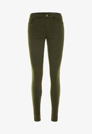 VMSEVEN SHAPE ZIP - Jeans Skinny Fit - peat