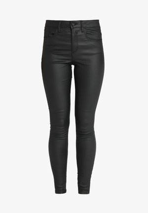 VMSOPHIA COATED PANTS - Tygbyxor - black