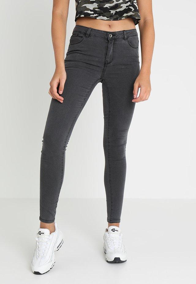 VMJULIA FLEX - Jeans Skinny - dark grey denim