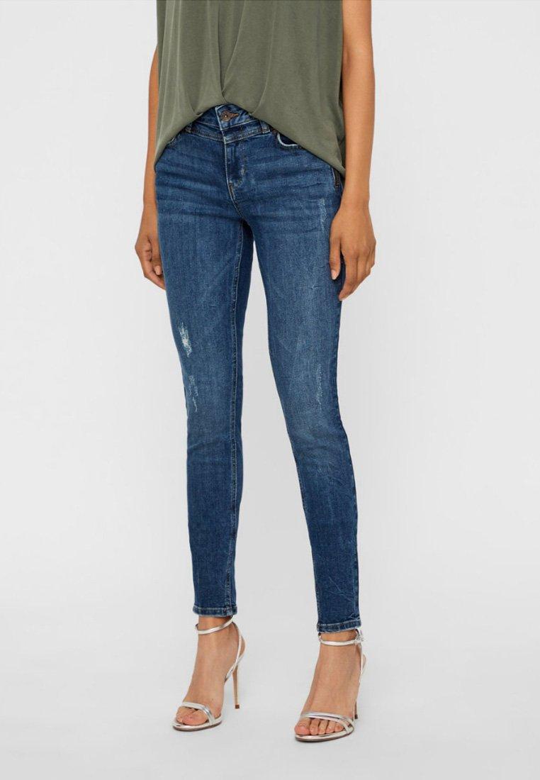 Vero Moda - Jeans Slim Fit - dark blue