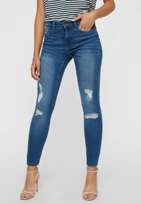 Vero Moda - Jeans Skinny Fit - medium blue - 0