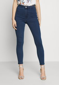 Vero Moda - VMJOY MIX - Skinny džíny - medium blue denim - 0