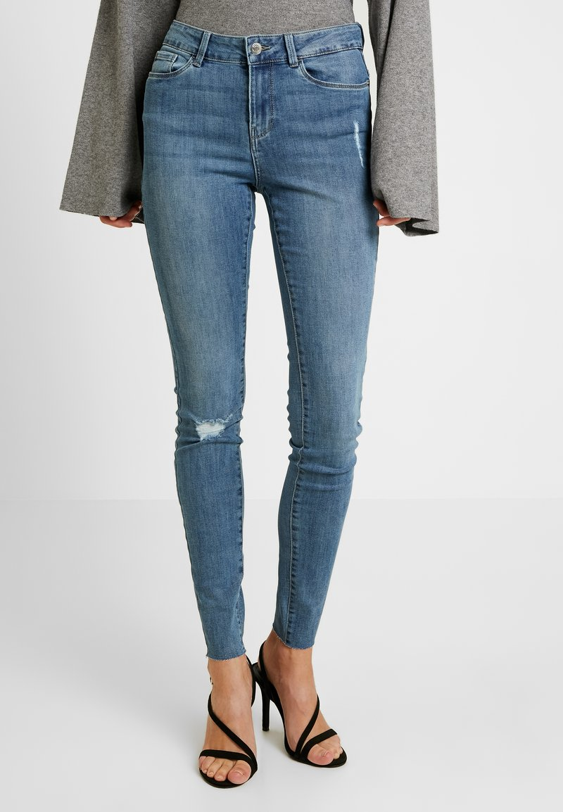 Vero Moda Tall - VMSEVEN - Jean slim - medium blue denim