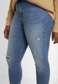 Vero Moda - Jeans Skinny Fit - medium blue denim - 3
