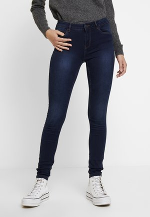VMSEVEN SHAPE UP - Jeans Skinny - dark blue denim
