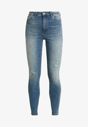 VMSOPHIA DESTROY  - Jeans Skinny Fit - medium blue denim