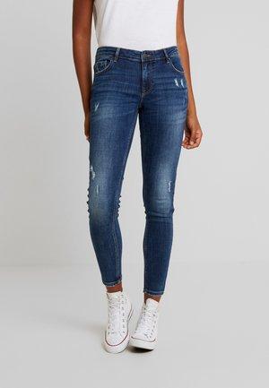 VMLYDIA - Jeans Skinny - dark blue denim