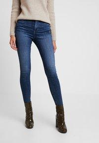 Vero Moda - VMSOPHIA - Skinny džíny - dark blue denim - 0