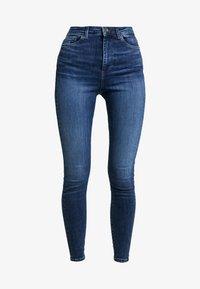 Vero Moda - VMSOPHIA - Jeans Skinny Fit - dark blue denim - 4