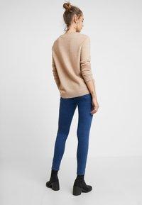 Vero Moda - VMSOPHIA BIKER PANT - Jeansy Skinny Fit - dark blue denim - 2