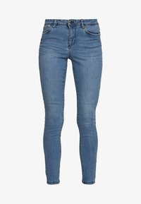 Vero Moda - VMSEVEN SLIM PIPING - Jeans Skinny Fit - medium blue denim - 4