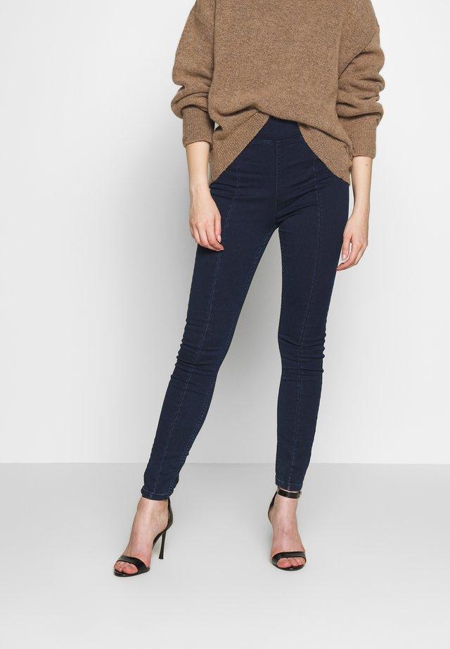 VMLANI ZIP DETAIL - Jeans Skinny Fit - dark blue denim