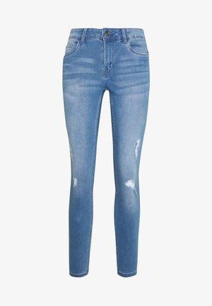 VMSEVEN SHAPE UP  - Jeansy Skinny Fit - light blue denim