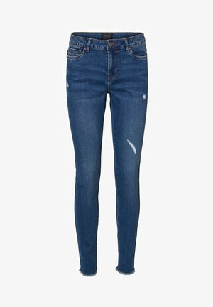 VMSEVEN - Slim fit jeans - medium blue denim