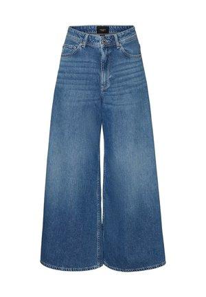 VMCLEMENTINA  - Flared Jeans - medium blue denim