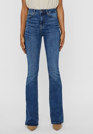 Bootcut jeans - medium blue denim