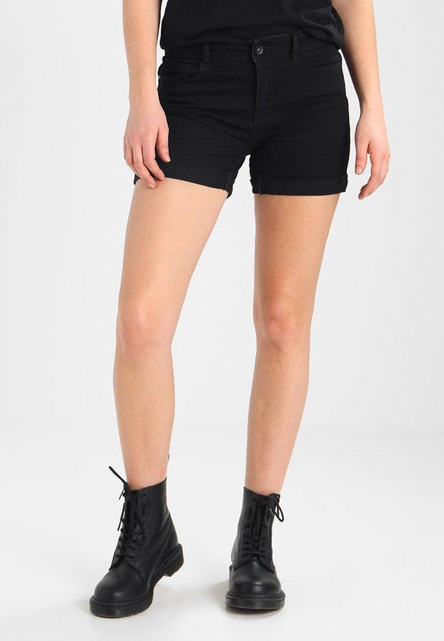 VMHOT  - Denim shorts - black