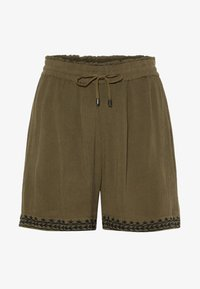 Vero Moda - VMHOUSTON - Shorts - ivy green - 4
