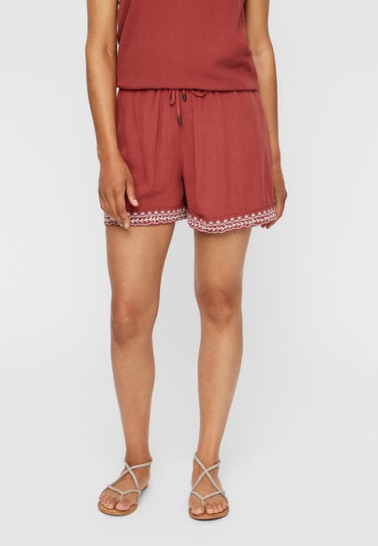 Vero Moda - VMHOUSTON - Shorts - brown