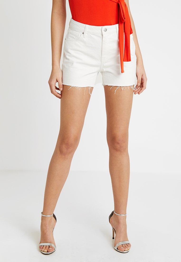 Vero Moda - VMANNA  - Shorts vaqueros - snow white