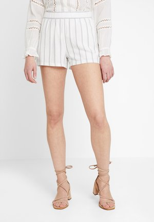 VMANNA MILO STRIPE - Shorts - snow white/night sky