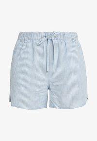 Vero Moda - VMMAYA CHAMBRAY - Jeansshorts - light blue denim/white - 3