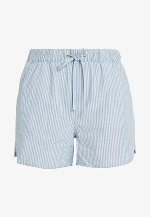 VMMAYA CHAMBRAY - Shorts di jeans - light blue denim/white