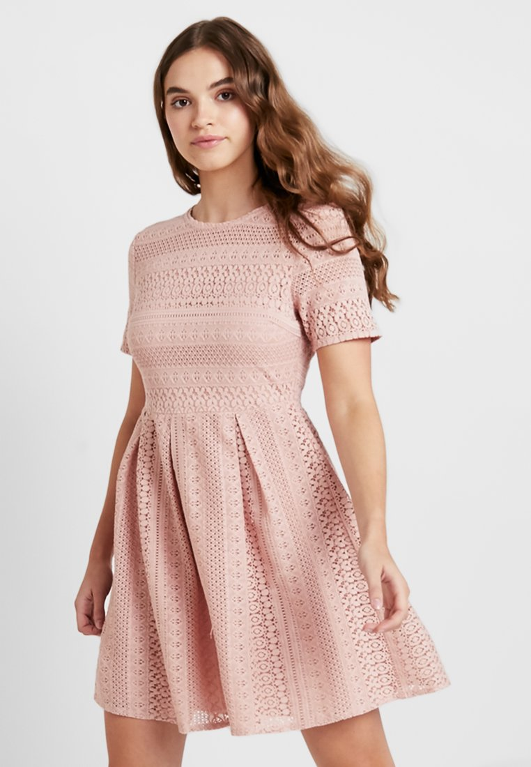 Vero Moda - VMHONEY PLEATED DRESS - Freizeitkleid - misty rose