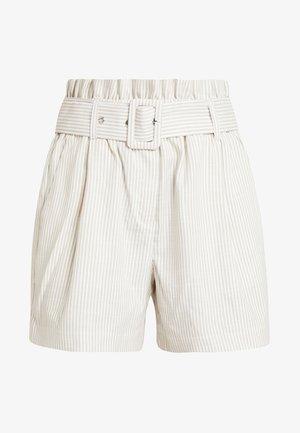 VMGALLY - Shorts - oatmeal/snow white