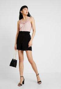 Vero Moda - VMCOCO GABRIELLE FRILL - Shorts - black - 1