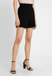Vero Moda - VMCOCO GABRIELLE FRILL - Shorts - black - 0