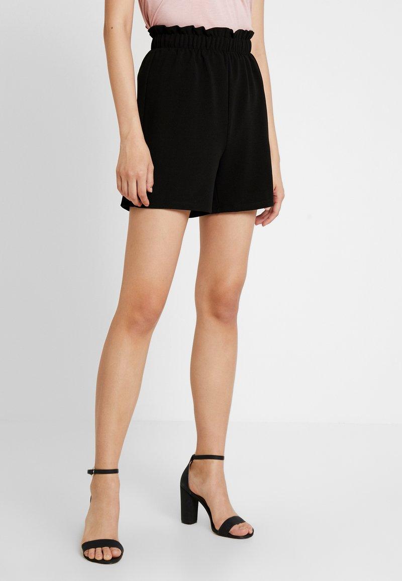 Vero Moda - VMCOCO GABRIELLE FRILL - Shorts - black