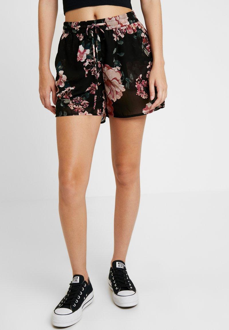 Vero Moda - VMSUNILLA TIE - Shorts - black