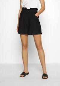 Vero Moda - VMPAIGE  - Shorts - black - 0