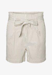 Vero Moda - PAPERBAG - Shorts - beige - 4