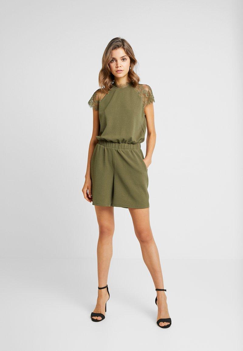 Vero Moda - ALBERTA CAPSLEEVE - Jumpsuit - ivy green