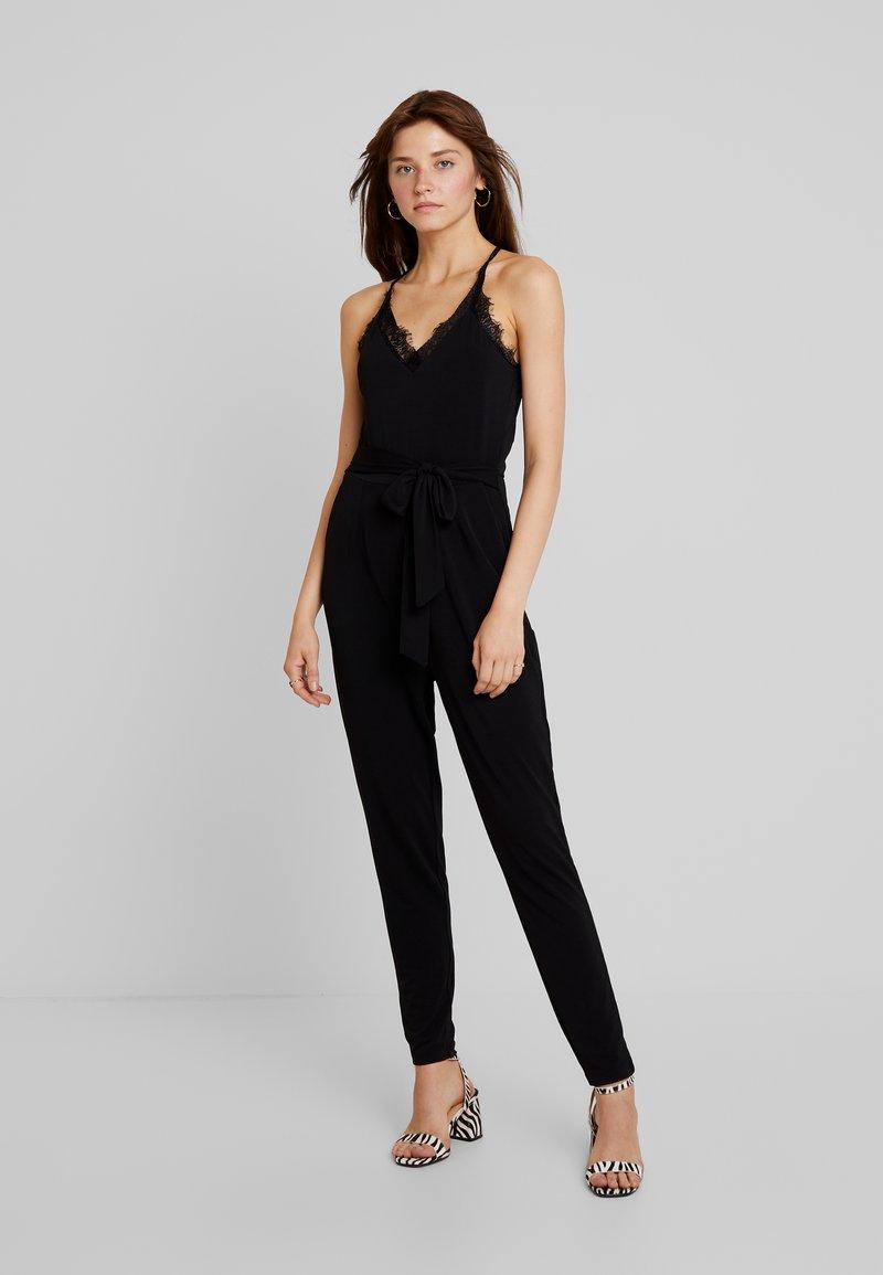 Vero Moda - VMALBERTA BELT - Jumpsuit - black